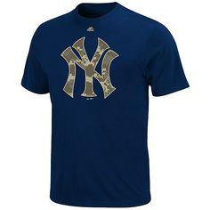 c8ff6db3 Stars and Stripes Camo T-Shirt Yankees T Shirt, Go Yankees, New York