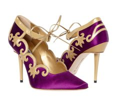 """Gorgeous shoes with a Spanish influence as seen by the eyes of Josef von Sternberg with Marlene Dietrech in the movie """"The Devil is a Woman""""."""