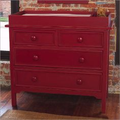 Bon Red Changing Table But Distressed (instead Of Navy) | DIY | Pinterest |  Nursery And Babies