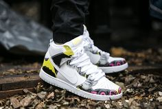 """Nike Dunk High Premium QS """"De La Soul"""" (748751-177) - www.worldbox.pl"""