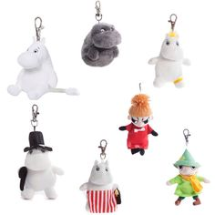 Moomin and Friends Keyclip Get your gorgeous Moomin and friends keyclips on a backpack, zip, coat or use it as a keyclip on your keyring! You Got This, Backpack, Zip, Friends, Coat, Gifts, Amigos, Favors, Boyfriends