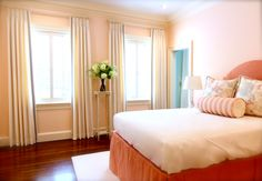 Decorative Drapes and Accent Pillows
