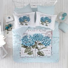 Love is on the air. Quilt Cover Sets, Bedding Collections, Blue Wedding, Bed Spreads, Linen Bedding, Bed Pillows, Pillow Cases, Like4like, Decorative Boxes