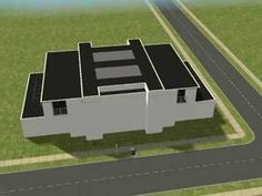 Sims 2 build modern house