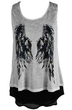 Innocent Clothing Angel Wing Women's Top, £18.99    http://www.attitudeclothing.co.uk/product_32445-64-2501_Innocent-Clothing-Angel-Wing-Women%27s-Top.htm