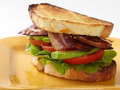 blt with avocado and pink chili mayo - and other great lunch sandwiches!