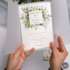 : Lush greenery and blush wedding invitation with vellum wrap DIY ideas Find all of our designer laser cut wedding invitations below! All invitations are created by independent artists! Our purpose is to bring most fresh and unique Wedding Invitation Video, Laser Cut Wedding Invitations, Diy Invitations, Wedding Invitation Design, Wedding Stationery, Forest Wedding Invitations, Homemade Wedding Invitations, Invites, Wedding Wraps