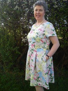 Christine Haynes Emery dress pattern.