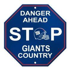 Football team Yard Sign (both teams avail) ~ Go Patriots & Giants!