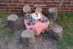 Mud pie kitchen play - Natural Inspired Environments ≈≈