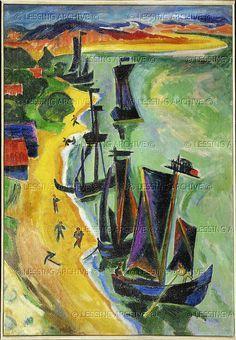 Image result for max pechstein art