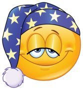 good night emoticon sticker