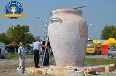 Największy gliniany garnek - rekord Guinessa w Babimoście!