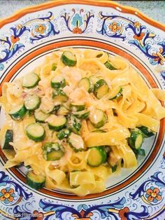 Vegetables and pasta were meant for each other. And no vegetable says summer like zucchini. Ergo, there's no more iconic summer pasta thantagliatelle with zucchini! Start by sauteing some sliced baby zucchine in olive oil with a chopped up shallot ...