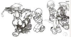 Kingdom Hearts - Sora & Kairi