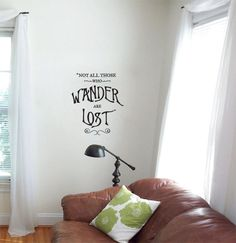 Not all those who wander are lost vinyl by KingsleyStreetVinyl, $18.00