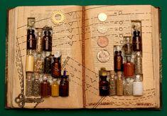 fantasy inspired altered book | Rachael Ashe's Altered Books | kero.i.am