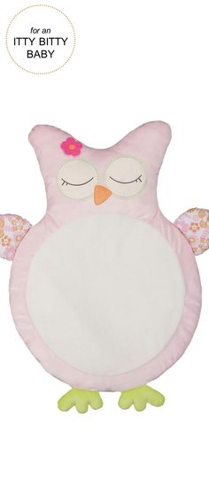 Gifts for Itty Bitty Babies | Lolli® Owl Play Mat |Very Merry Gift Guide