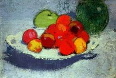 View Still Life with Fruit (Circa By Helene Schjerfbeck; oil on canvas; Access more artwork lots and estimated & realized auction prices on MutualArt. Helene Schjerfbeck, Still Life 2, Still Life Fruit, Be Still, Nordic Art, Scandinavian Art, Hortensia Hydrangea, Female Painters, Types Of Fruit
