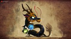 Cute tiny Dragon :D Dota 2 Game, Tiny Dragon, 1080p Wallpaper, Beautiful Images, Moose Art, Scene, Animation, Funny, Illustration