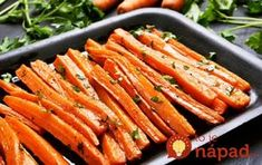 Bluff Cove Olive Oil Co.: Sweet and Spicy Carrots Oven Roasted Carrots, Spicy Carrots, Comidas Light, Carrot Fries, Healthy Holiday Recipes, Holiday Foods, Curry Spices, Carrot Recipes, Sweet And Spicy