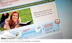 Health Insurance Authority 2 Website Design