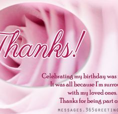 The 62 best thank you for birthday wishes images on pinterest birthday thank you messages thank you for birthday wishes messages greetings and wishes messages wordings and gift ideas m4hsunfo