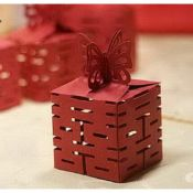 Wedding favor box. 50% OFF . (12 pcs set for only $8.95 with free shipping)