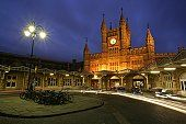 Bristol Temple Meads railway station at night. Bristol Cars, Bristol Fashion, Homes England, Bristol England, Massive Attack, Planet Earth, Jamaica, Ontario, Big Ben