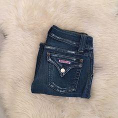 Hudson jeans 2 front buttons, designer denim Hudson Jeans Jeans