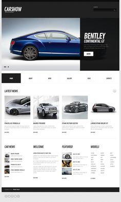 Car Magazine WordPress Theme