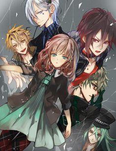 Amnesia... Toma, Ikki, Shin, Kento and Ukyo:)