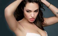 Angelina Jolie Sexy Desktop Wallpaper HD 9
