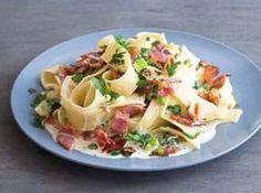 Šunkové těstoviny (www.albert.cz/recepty) Potato Salad, Cabbage, Potatoes, Meat, Chicken, Vegetables, Ethnic Recipes, Minecraft, Lasagna