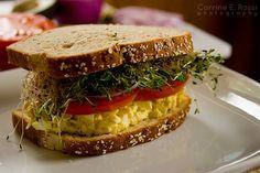 """Egg Salad """"Sangwich"""""""