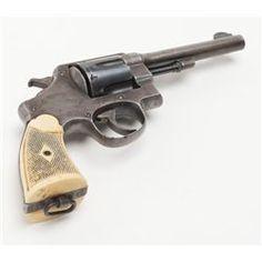 "United States Property marked Model 1917 Army DA revolver, .45 cal., 5-1/2"" barrel, blue finish,"