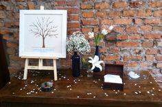 Árvore Digital  Finger tree Decor Casamento no TIELLA Eventos