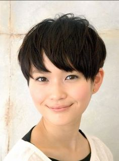 Boyish Japanese Haircut