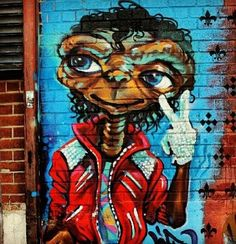 E.T. Beat It.   MJ gave his voice for the audio book. He loved this movie.