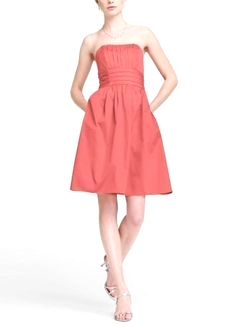 45.99$  Watch here - http://vietw.justgood.pw/vig/item.php?t=ekradk0423 - Beautiful Coral strapless dress size 12 David's Bridal 45.99$