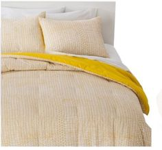Room Essentials XL Twin Comforter Set - Yellow/White | Home & Garden, Bedding, Comforters & Sets | eBay!