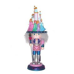Nutcrackers 177743: Hollywood Disney Princesses Hat Wooden Christmas Nutcracker 16 Inch Decoration -> BUY IT NOW ONLY: $125.98 on eBay!