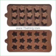 Encontre mais Forma de bolo Informações sobre Novo formato de estrela Chocolate molde doces Mold bandeja Ice, de alta qualidade Forma de bolo de Cake Tools Supplier em Aliexpress.com