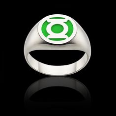 The first design I ever made in the DC Comics range, a Green Lantern Ring. I think I've lost count of how many I've made.  Ring RRP $100 AUD