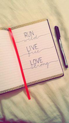 run wild • live free • love strong