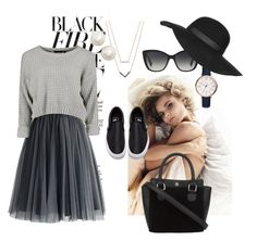 """Casual Sunday"" by eiram-schultz on Polyvore featuring Michael Kors, Chicwish, Kate Spade, Vans, Dolce&Gabbana, FOSSIL and Topshop Fossil, Kate Spade, Topshop, Sunday, Vans, Michael Kors, Casual, Polyvore, Fashion"