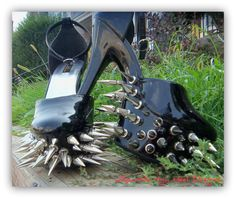 Spiked Pumps . What not to wear