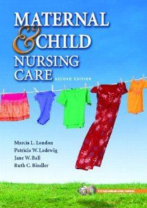 Maternal & Child Nursing Care 2nd edition London, Ludwig, Ball, Bindler Test Bank Download: Maternal & Child Nursing Care 2nd edition London, Ludwig, Ball, Bindler Test Bank Price: $10 Published: 2006 ISBN-10: 0131723944 ISBN-13: 978-0131723948