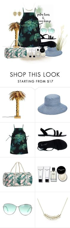 """Palm Trees Ocean Breeze"" by tia2 ❤ liked on Polyvore featuring Vera Bradley, PBteen, Bobbi Brown Cosmetics, Tom Ford and Annette Ferdinandsen"