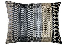 Iceni 17x14 Pillow, Gray on OneKingsLane.com
